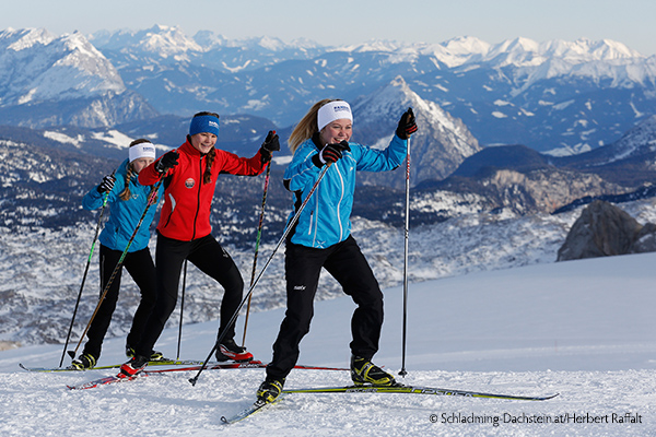 Cross-country skiing in the Ramsau-Dachstein region